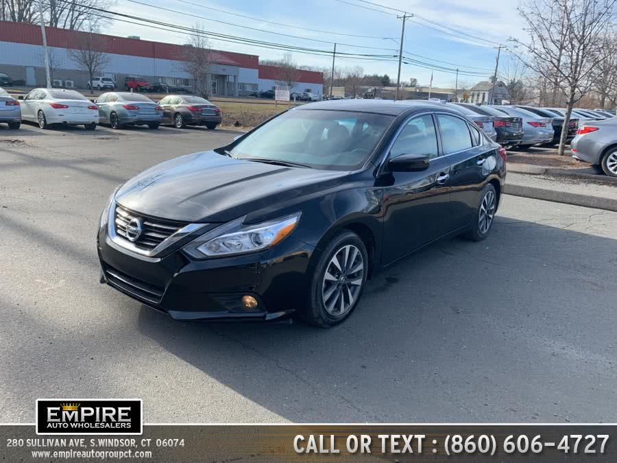 Used Nissan Altima 2.5 SV Sedan 2017 | Empire Auto Wholesalers. S.Windsor, Connecticut