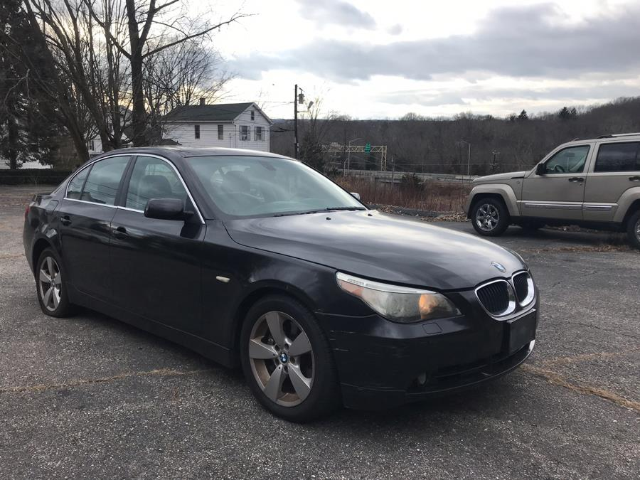 2006 BMW 5 Series 530xi 4dr Sdn AWD, available for sale in Naugatuck, Connecticut | Riverside Motorcars, LLC. Naugatuck, Connecticut