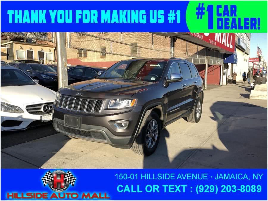 2015 Jeep Grand Cherokee 4WD 4dr Limited, available for sale in Jamaica, New York | Hillside Auto Mall Inc.. Jamaica, New York