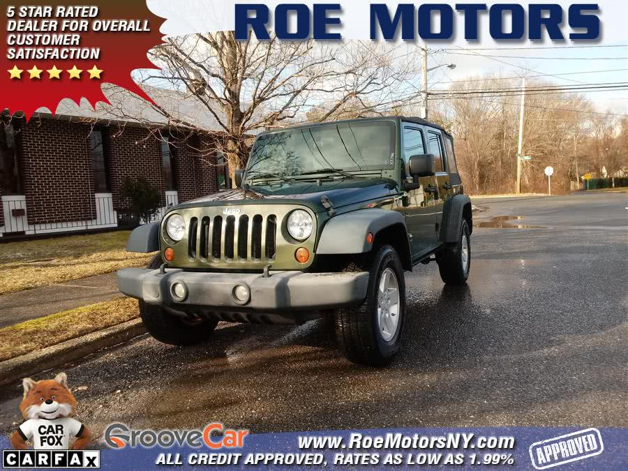 2008 Jeep Wrangler 4WD 4dr Unlimited X, available for sale in Shirley, New York | Roe Motors Ltd. Shirley, New York