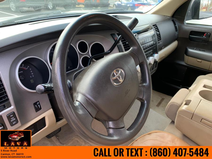 2010 Toyota Tundra 4WD Truck Dbl 4.6L V8 6-Spd AT, available for sale in Canton, Connecticut   Lava Motors. Canton, Connecticut