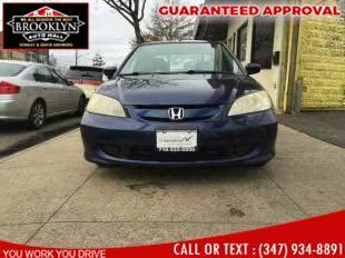 Used Honda Civic Hybrid CVT ULEV 2005 | Brooklyn Auto Mall LLC. Brooklyn, New York