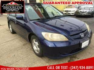 Used Honda Civic Hybrid CVT ULEV 2005 | Brooklyn Auto Mall LLC. Brooklyn, New York