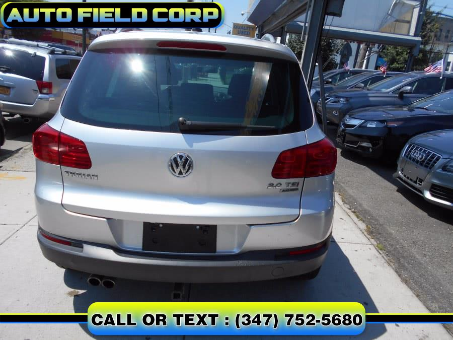 2013 Volkswagen Tiguan 4WD 4dr Auto SE w/Sunroof & Nav *Ltd Avail*, available for sale in Jamaica, New York | Auto Field Corp. Jamaica, New York
