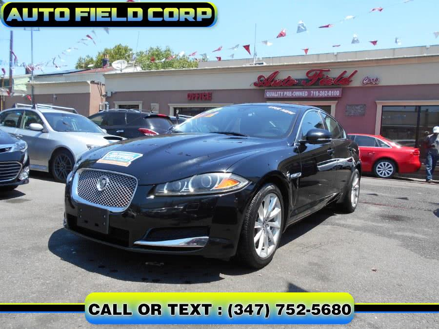 Used JAGUAR XF LUXURY SEDAN 2012 | Auto Field Corp. Jamaica, New York