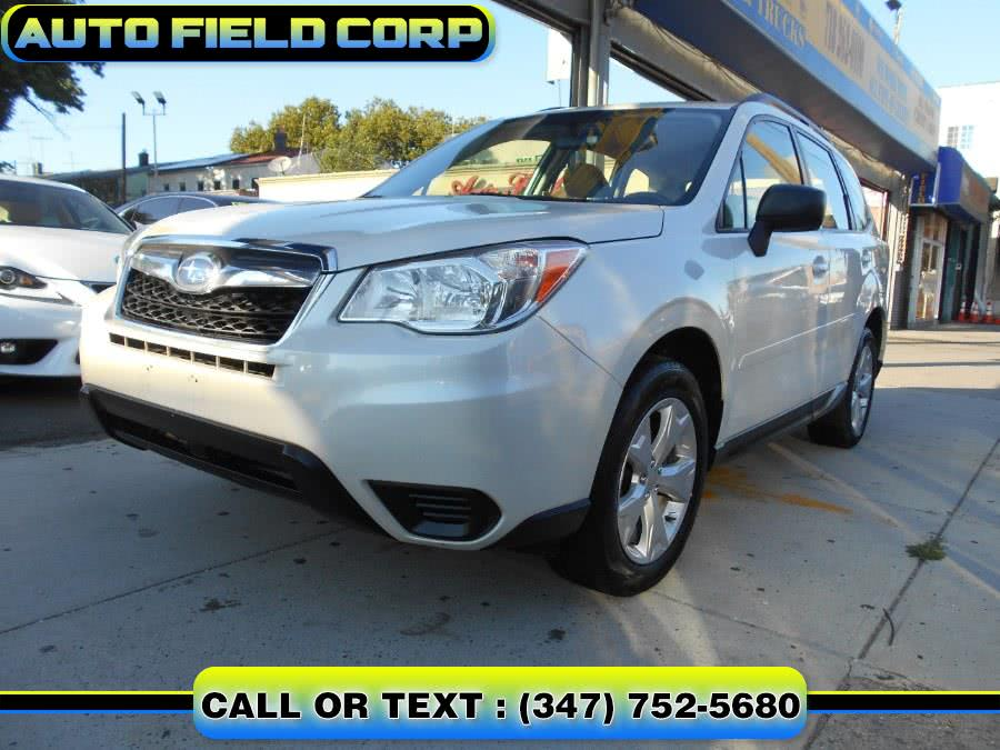Used 2015 Subaru Forester in Jamaica, New York | Auto Field Corp. Jamaica, New York