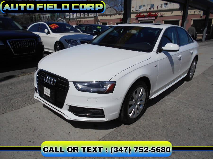 Used 2015 Audi A4 in Jamaica, New York | Auto Field Corp. Jamaica, New York