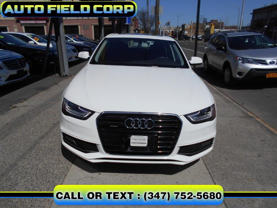 2015 Audi A4 4dr Sdn Auto quattro 2.0T Premium, available for sale in Jamaica, New York | Auto Field Corp. Jamaica, New York