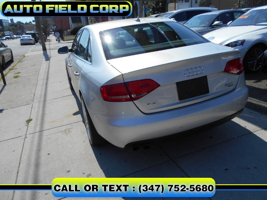2011 Audi A4 4dr Sdn Auto quattro 2.0T Premium  Plus, available for sale in Jamaica, New York | Auto Field Corp. Jamaica, New York