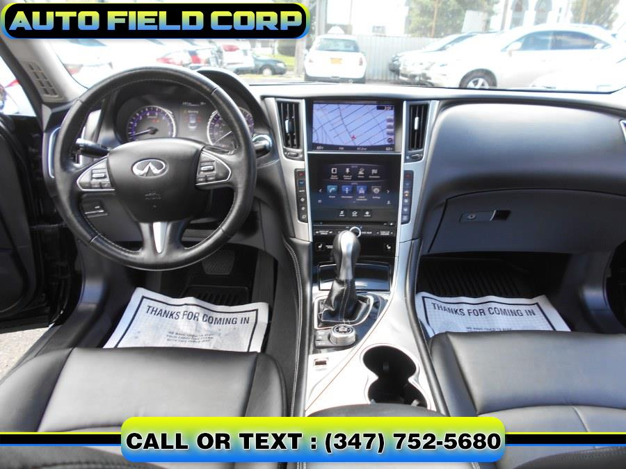 2015 INFINITI Q50 4dr Sdn Premium AWD, available for sale in Jamaica, New York | Auto Field Corp. Jamaica, New York