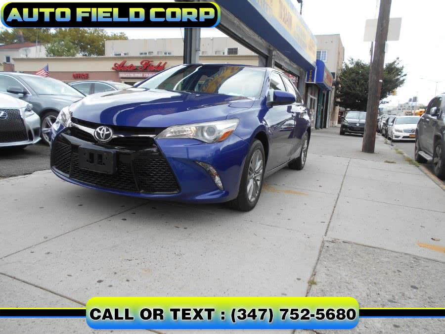 Used 2015 TOYOTA CAMRY in Jamaica, New York | Auto Field Corp. Jamaica, New York
