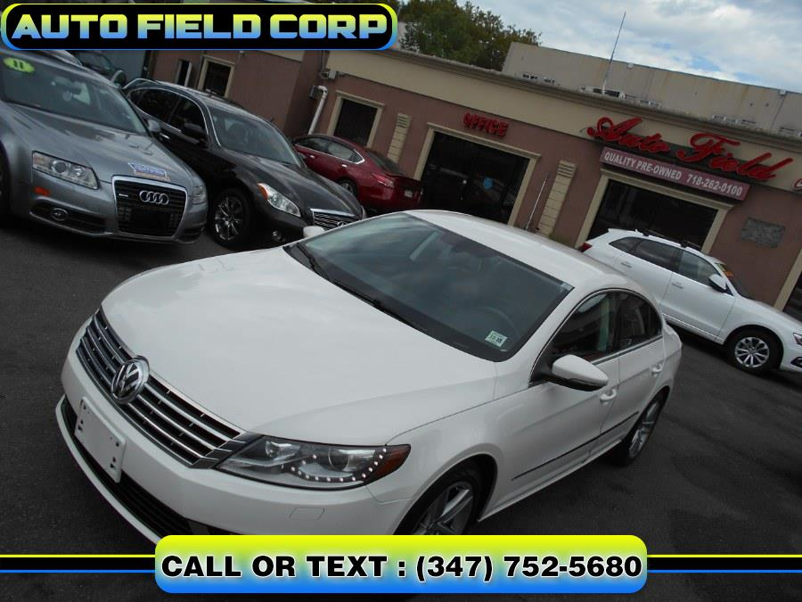 2013 Volkswagen CC 4dr Sdn DSG Sport w/LEDs PZEV, available for sale in Jamaica, New York | Auto Field Corp. Jamaica, New York