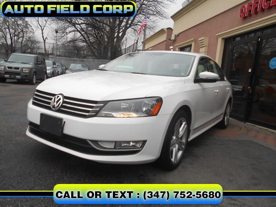 Used 2015 Volkswagen Passat in Jamaica, New York   Auto Field Corp. Jamaica, New York