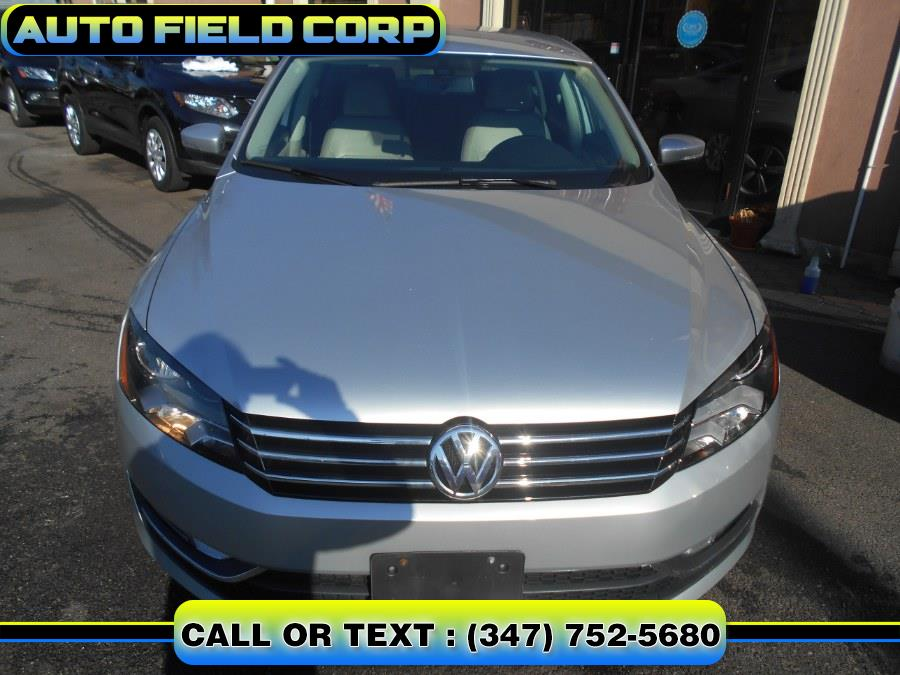 2015 Volkswagen Passat 4dr Sdn 1.8T Auto S PZEV, available for sale in Jamaica, New York | Auto Field Corp. Jamaica, New York