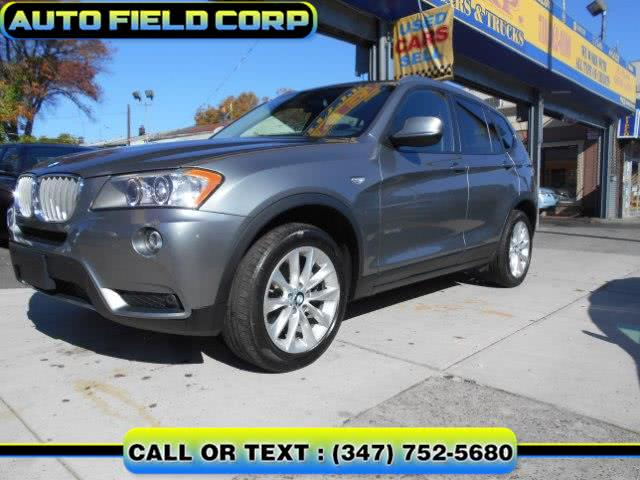 2013 BMW X3 AWD 4dr xDrive28i, available for sale in Jamaica, NY