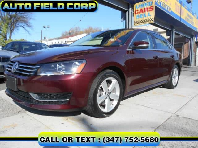 Used 2013 Volkswagen Passat SE in Jamaica, New York | Auto Field Corp. Jamaica, New York