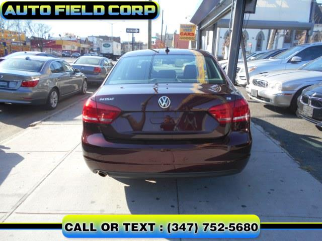2013 Volkswagen Passat SE 4dr Sdn 2.5L Auto SE PZEV, available for sale in Jamaica, New York | Auto Field Corp. Jamaica, New York