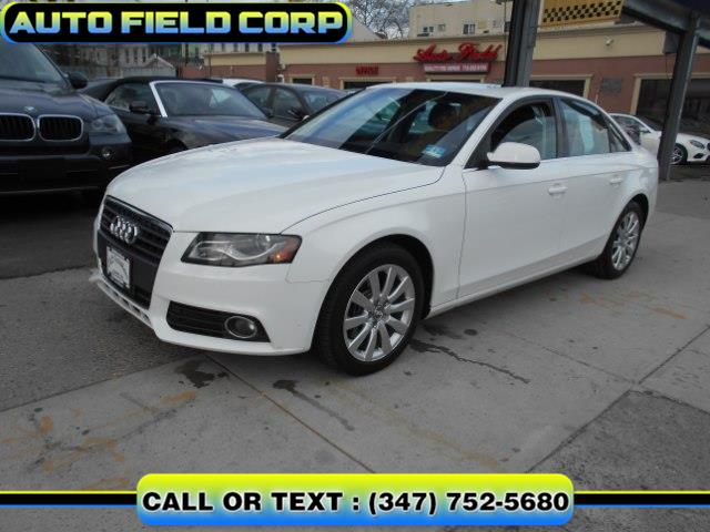 2010 Audi A4 4dr Sdn Auto quattro 2.0T Prem, available for sale in Jamaica, New York | Auto Field Corp. Jamaica, New York