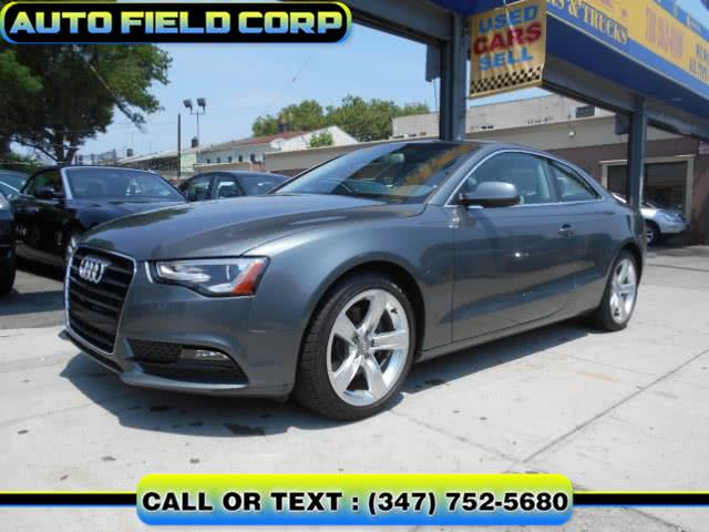 Used AUDI A5 PREMIUM AUTOMATIC LUXURY COUPE 2013 | Auto Field Corp. Jamaica, New York