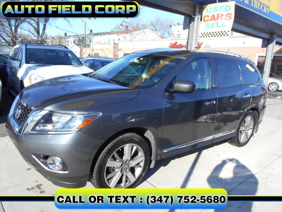 Used 2013 Nissan Pathfinder in Jamaica, New York | Auto Field Corp. Jamaica, New York