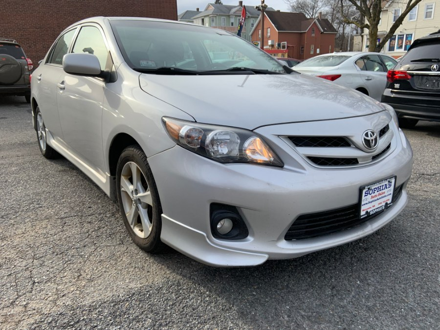2011 Toyota Corolla 4dr Sdn Man S, available for sale in Worcester, Massachusetts   Sophia's Auto Sales Inc. Worcester, Massachusetts
