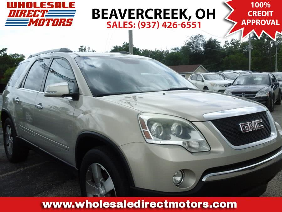 Used 2010 GMC Acadia in Beavercreek, Ohio | Wholesale Direct Motors. Beavercreek, Ohio