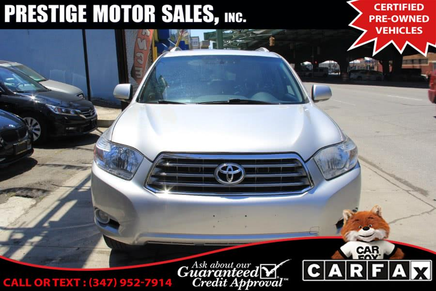 Used 2010 Toyota Highlander in Brooklyn, New York | Prestige Motor Sales Inc. Brooklyn, New York