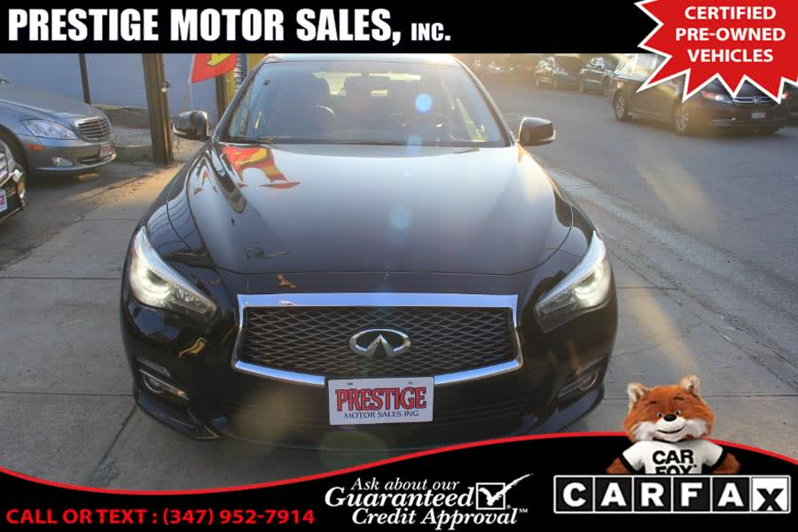 Used 2015 Infiniti Q50 in Brooklyn, New York | Prestige Motor Sales Inc. Brooklyn, New York