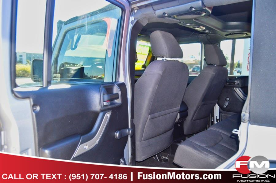 2013 Jeep Wrangler Unlimited 4WD 4dr Sport, available for sale in Moreno Valley, California | Fusion Motors Inc. Moreno Valley, California