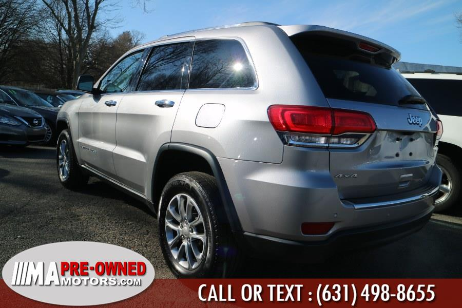 2015 Jeep Grand Cherokee 4WD 4dr Limited, available for sale in Huntington, New York | M & A Motors. Huntington, New York