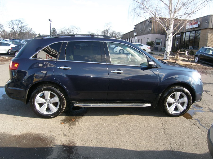 2012 Acura MDX AWD 4dr Tech Pkg, available for sale in Stratford, Connecticut | Wiz Leasing Inc. Stratford, Connecticut