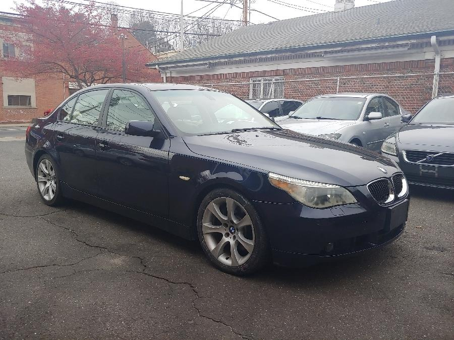 2005 BMW 5 Series 545i 4dr Sdn, available for sale in Shelton, Connecticut | Center Motorsports LLC. Shelton, Connecticut