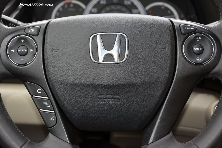 2013 Honda Accord Sdn 4dr I4 CVT EX-L, available for sale in Waterbury, Connecticut | Highline Car Connection. Waterbury, Connecticut