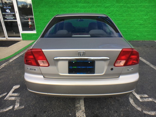 2002 Honda Civic 4dr Sdn LX Auto, available for sale in Danbury, Connecticut | Car City of Danbury, LLC. Danbury, Connecticut