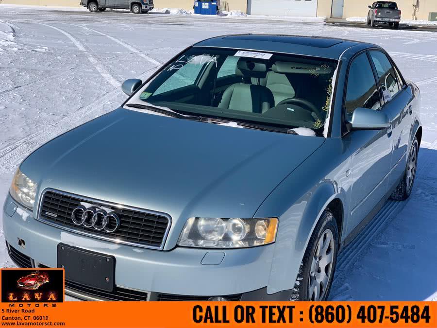 Used 2002 Audi A4 4dr Sdn 1.8T quattro AWD Auto