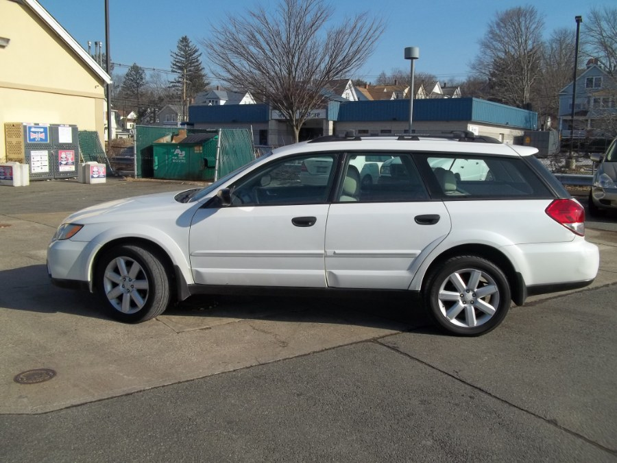 2008 Subaru Outback 4dr H4 Auto 2.5i PZEV, available for sale in Wallingford, Connecticut | G&M Auto Sales. Wallingford, Connecticut
