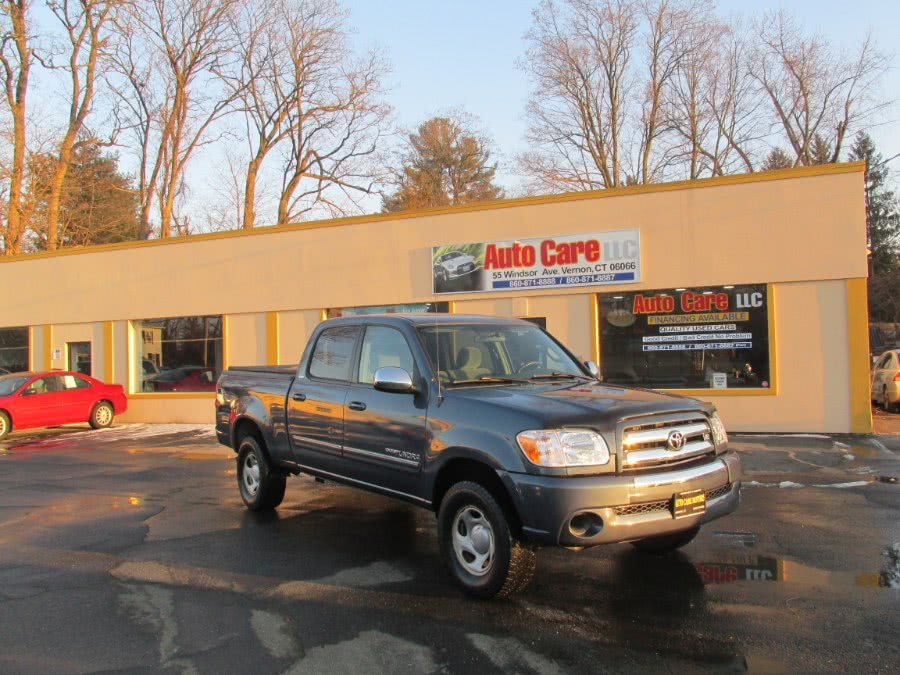 2006 Toyota Tundra 4 door  SR5 4WD, available for sale in Vernon , Connecticut | Auto Care Motors. Vernon , Connecticut