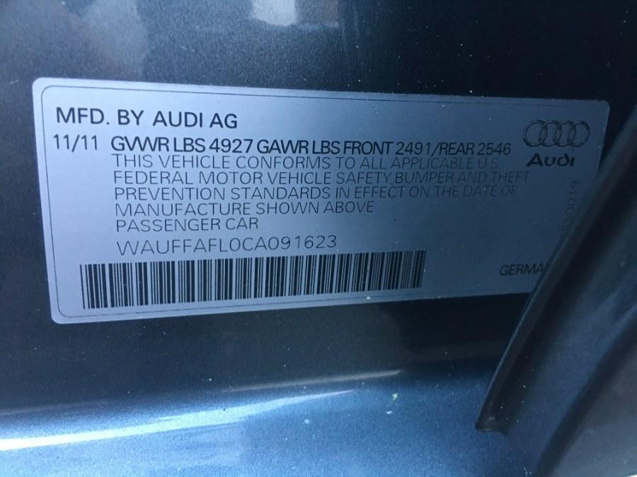 2012 Audi A4 4dr Sdn Auto quattro 2.0T Premium Plus, available for sale in Bristol, Connecticut | Bristol Auto Center LLC. Bristol, Connecticut