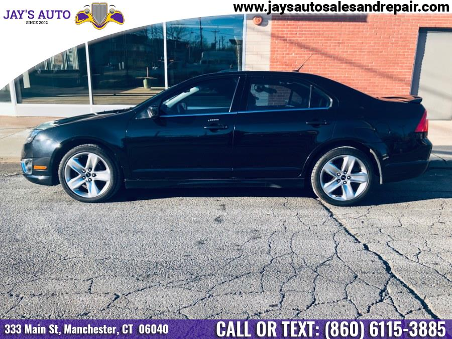 2010 Ford Fusion 4dr Sdn SPORT AWD, available for sale in Manchester, Connecticut | Jay's Auto. Manchester, Connecticut