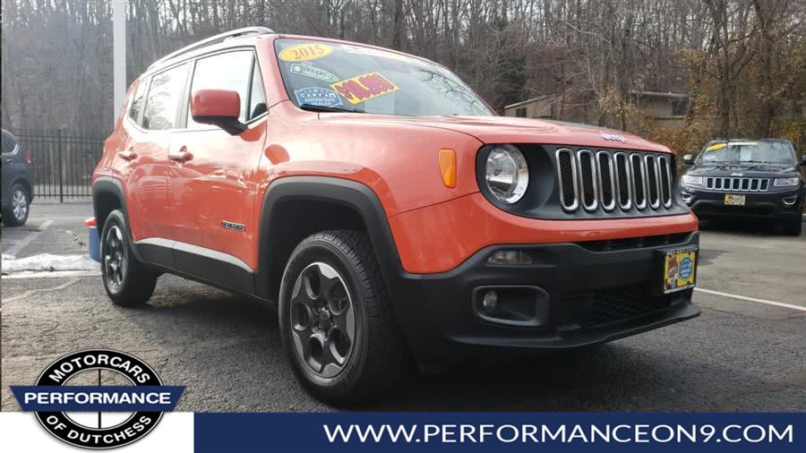 Used Jeep Renegade 4WD 4dr Latitude 2015 | Performance Motorcars Inc. Wappingers Falls, New York