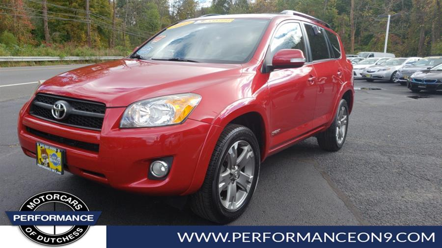 2012 Toyota RAV4 4WD 4dr I4 Sport (Natl), available for sale in Wappingers Falls, New York | Performance Motorcars Inc. Wappingers Falls, New York