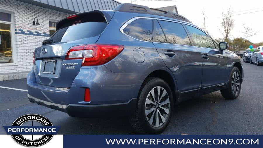 Used Subaru Outback 4dr Wgn 2.5i Limited PZEV 2015 | Performance Motorcars Inc. Wappingers Falls, New York