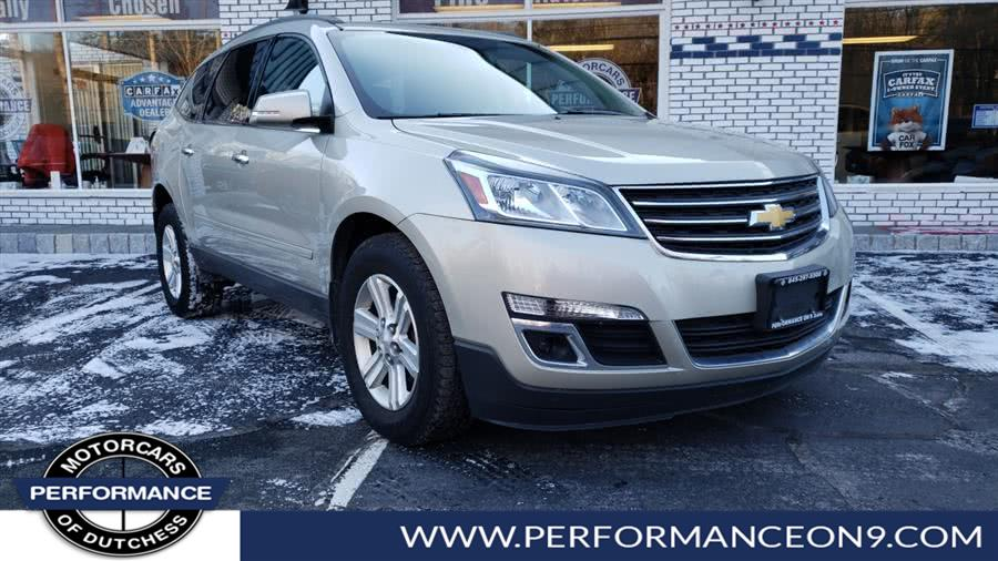 2014 Chevrolet Traverse AWD 4dr LT w/1LT, available for sale in Wappingers Falls, New York | Performance Motorcars Inc. Wappingers Falls, New York