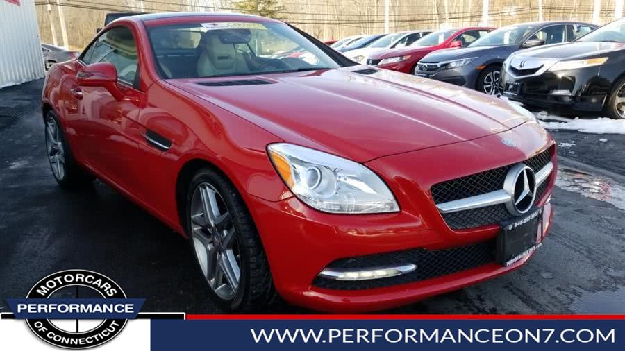 Used 2015 Mercedes-Benz SLK-Class in Wilton, Connecticut | Performance Motor Cars. Wilton, Connecticut