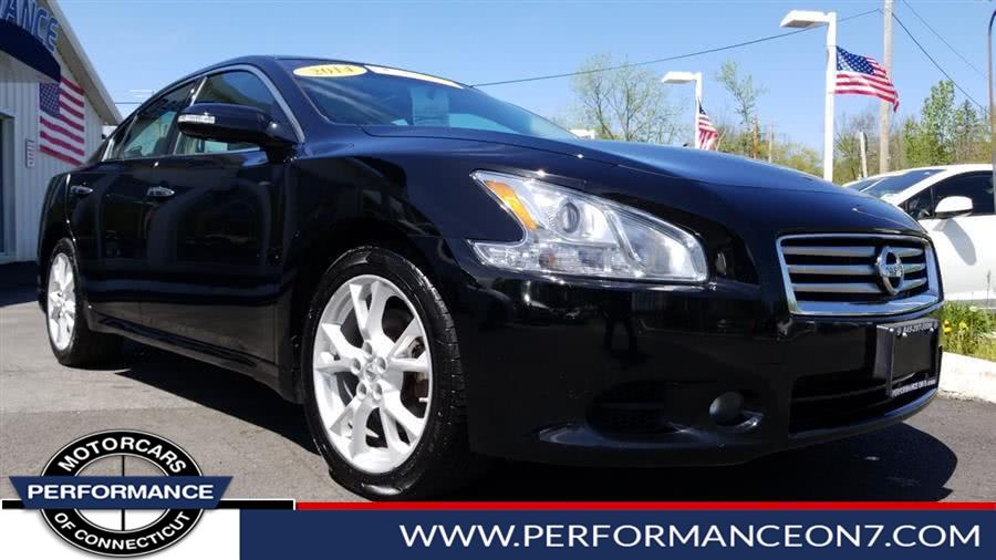 Used Nissan Maxima 4dr Sdn 3.5 SV w/Premium Pkg 2014 | Performance Motor Cars. Wilton, Connecticut