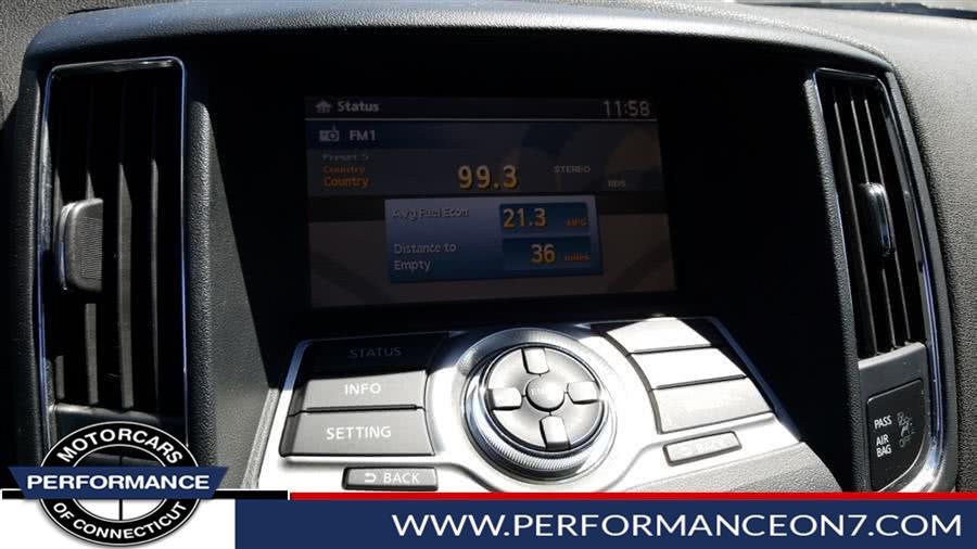 2014 Nissan Maxima 4dr Sdn 3.5 SV w/Premium Pkg, available for sale in Wilton, Connecticut | Performance Motor Cars. Wilton, Connecticut