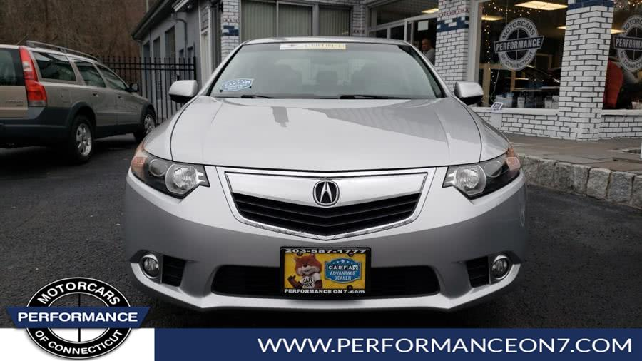 2012 Acura TSX 4dr Sdn I4 Auto, available for sale in Wilton, Connecticut | Performance Motor Cars. Wilton, Connecticut