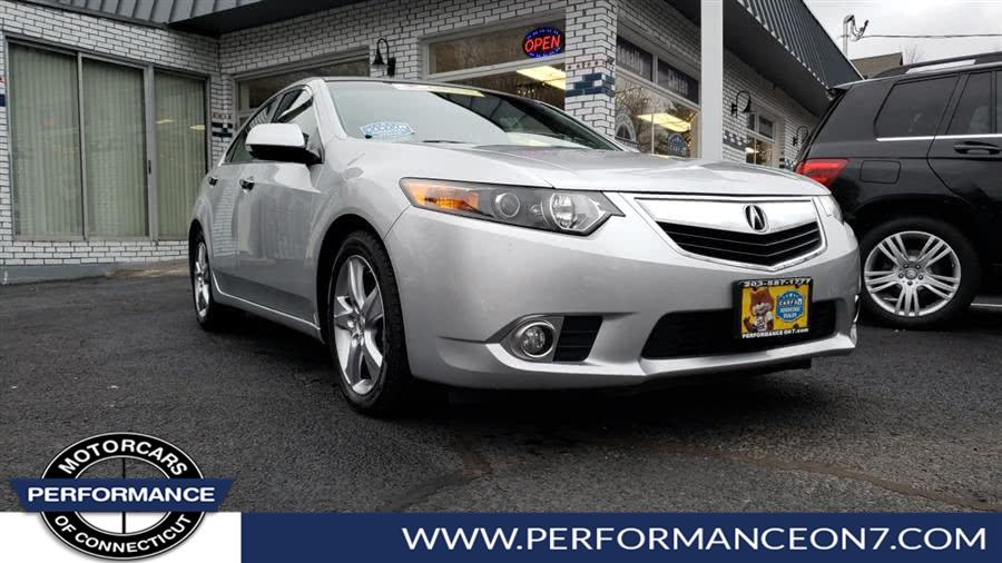Used Acura TSX 4dr Sdn I4 Auto 2012 | Performance Motor Cars. Wilton, Connecticut