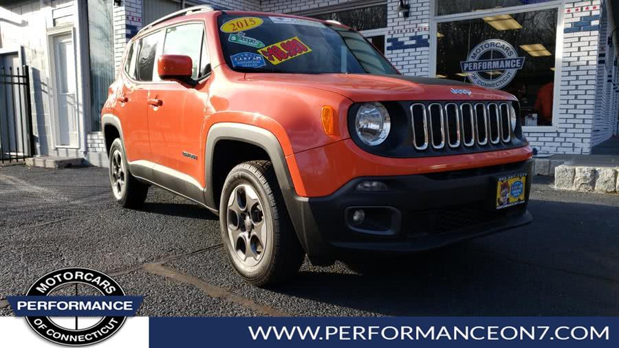 Used 2015 Jeep Renegade in Wilton, Connecticut | Performance Motor Cars. Wilton, Connecticut
