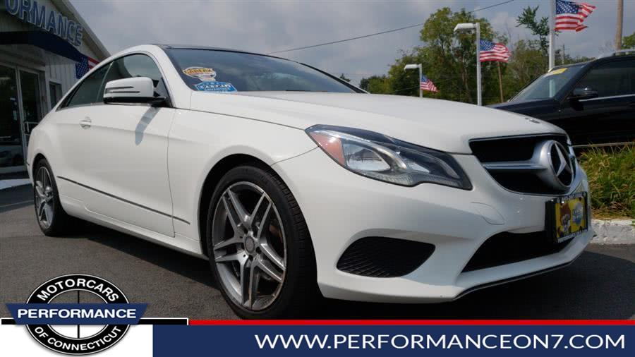 Used Mercedes-Benz E-Class 2dr Cpe E 400 4MATIC 2015 | Performance Motor Cars. Wilton, Connecticut